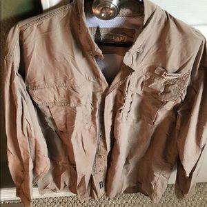 Magellan Outdoors Shirts - 3 Magellan Sportswear Vented Shirts - L